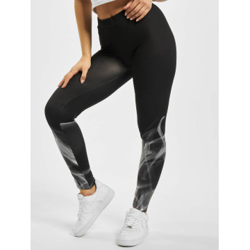 Urban Classics Leggings Ladies Smoke svart