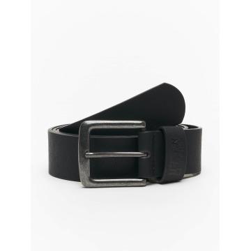 Urban Classics Pásky Leather Imitation čern