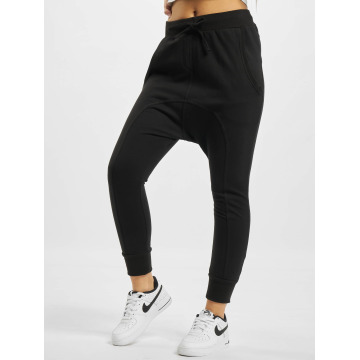 Urban Classics Pantalón deportivo Light Fleece Sarouel negro