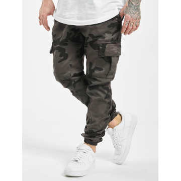 Urban Classics Pantalone Cargo Camo grigio