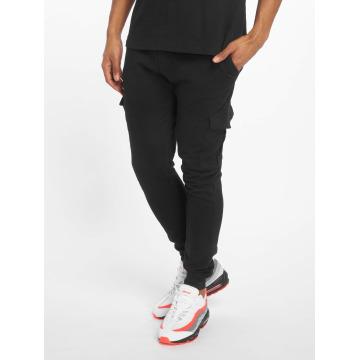 Urban Classics Pantalone ginnico Fitted Cargo nero