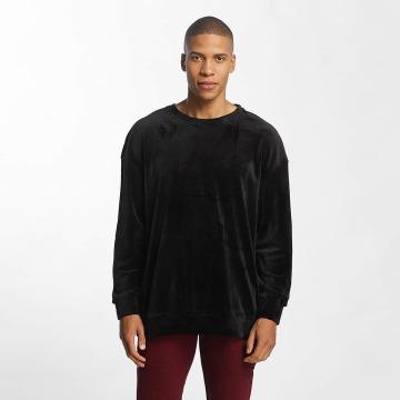 Urban Classics Pullover Velvet Oversized black
