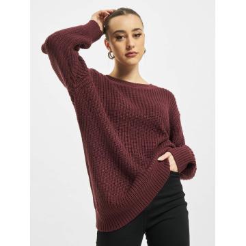 Urban Classics Pullover Basic Oversized rot