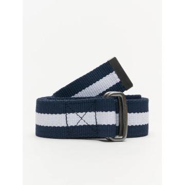 Urban Classics riem Stripe blauw