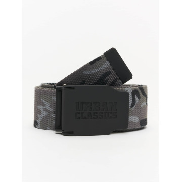 Urban Classics riem Woven camouflage