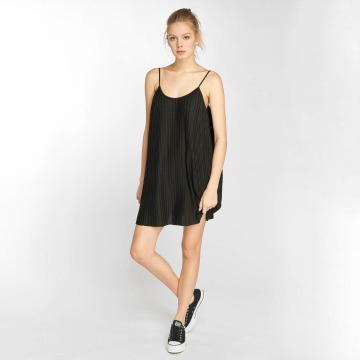 Urban Classics Robe Jersey Pleated Slip noir