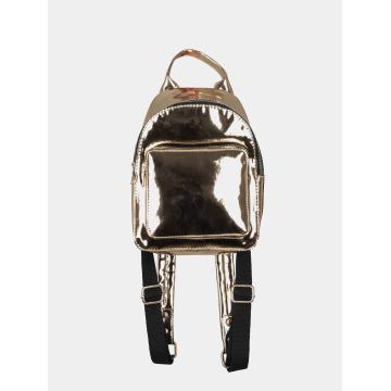 Urban Classics rugzak Mini Metallic goud
