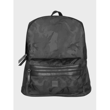 Urban Classics rugzak Camo Jacquard zwart