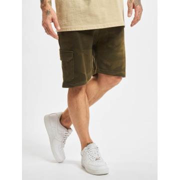 Urban Classics Shorts Camo Terry Cargo camouflage