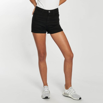 Urban Classics Shorts Twill Highwaist Stretch nero