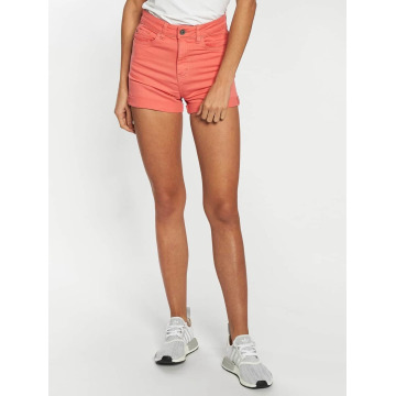Urban Classics Shorts Twill Highwaist Stretch rot