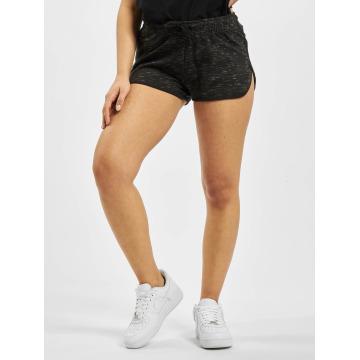 Urban Classics shorts Space Dye zwart