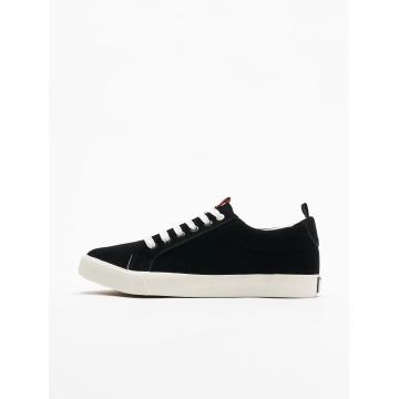 Urban Classics Sneaker Velor schwarz