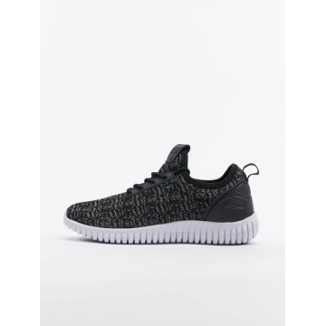 Urban Classics Sneakers Knitted Light svart