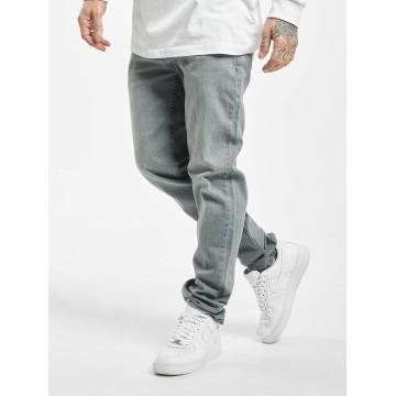 Urban Classics Straight fit jeans Stretch Denim grijs