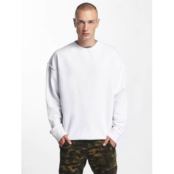 Urban Classics Sweat & Pull Oversized Open Edge blanc