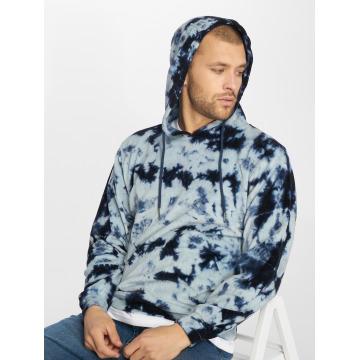 a0ad3422826e9 Urban Classics | Velvet Tie Dye indigo Homme Sweat capuche 563045