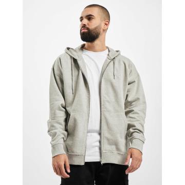 Urban Classics Sweat capuche zippé Oversized gris