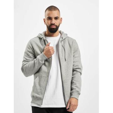 Urban Classics Sweat capuche zippé Basic gris