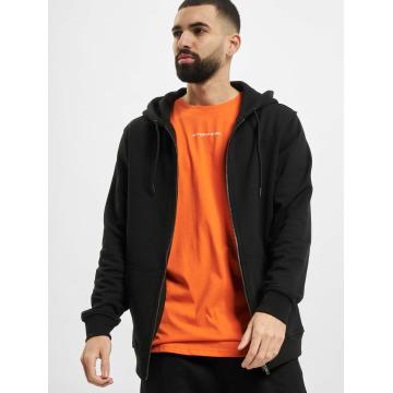 Urban Classics Sweat capuche zippé Basic noir