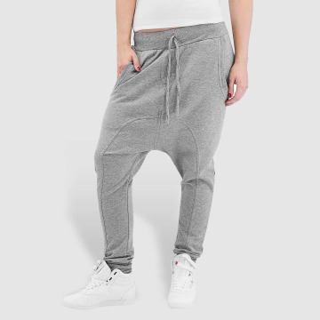 Urban Classics Sweat Pant Light Fleece Sarouel gray