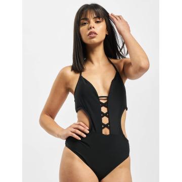 Urban Classics Swimwear Lace Up black