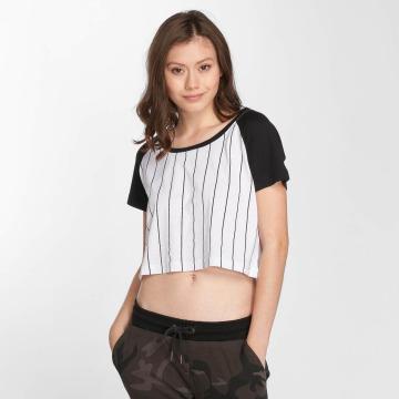 Urban Classics T-paidat Cropped Baseball valkoinen
