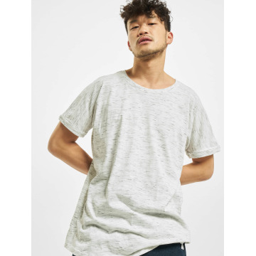 Urban Classics T-shirt Long Space Dye Turn Up bianco