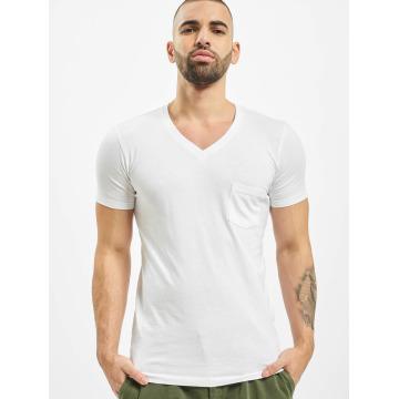 Urban Classics T-Shirt Pocket blanc