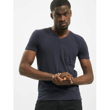 Urban Classics T-Shirt Pocket bleu