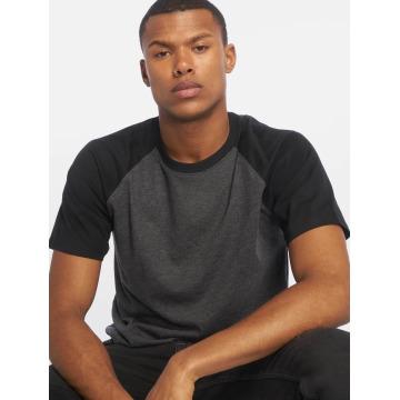 Urban Classics T-shirt Raglan Contrast grå