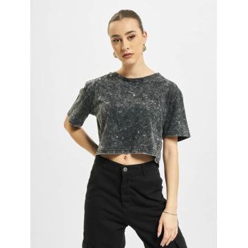 Urban Classics T-Shirt Random Wash Short Oversize grau