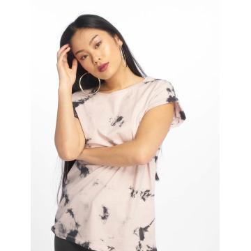 Urban Classics T-Shirt Batic Extended magenta