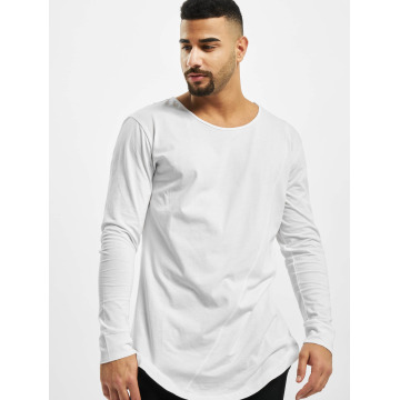 Urban Classics T-Shirt manches longues Long Shaped Fashion blanc
