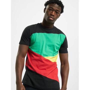 Urban Classics T-Shirt Zig Zag noir