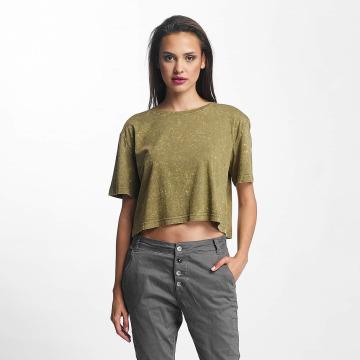 Urban Classics T-Shirt Random Wash Short Oversize olive