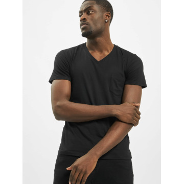 Urban Classics t-shirt Pocket zwart