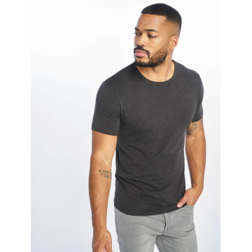 Urban Classics T-Shirty Fitted Stretch szary