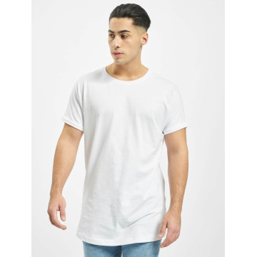 Urban Classics Tall Tees Long Shaped Turnup белый