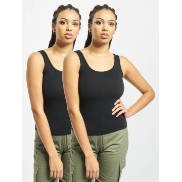 Urban Classics Tank Tops 2-Pack Basic black