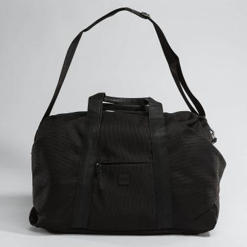 Urban Classics tas Triangle Weekender zwart