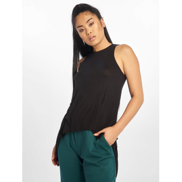 Urban Classics Top Ladies HiLo Viscose negro