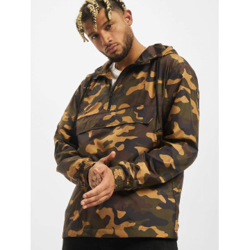 Urban Classics Übergangsjacke Camo Pull Over camouflage