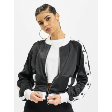 Urban Classics Übergangsjacke Button Up schwarz