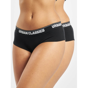 Urban Classics Underwear Ladies Double Pack Logo black