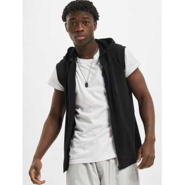 Urban Classics Vest Sleeveless Terry black