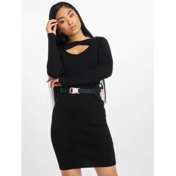 Urban Classics Vestido Cut Out negro