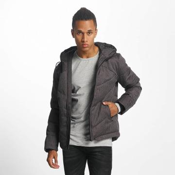 Urban Classics Winter Jacket Heringbone gray