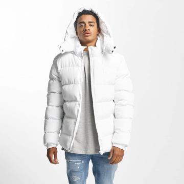 Urban Classics winterjas Hooded Puffer wit