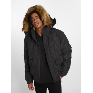 Urban Classics winterjas Heavy zwart